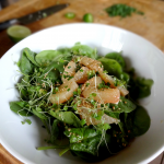 Spinach Grapefruit Salad with Citrus-Sesame Dressing